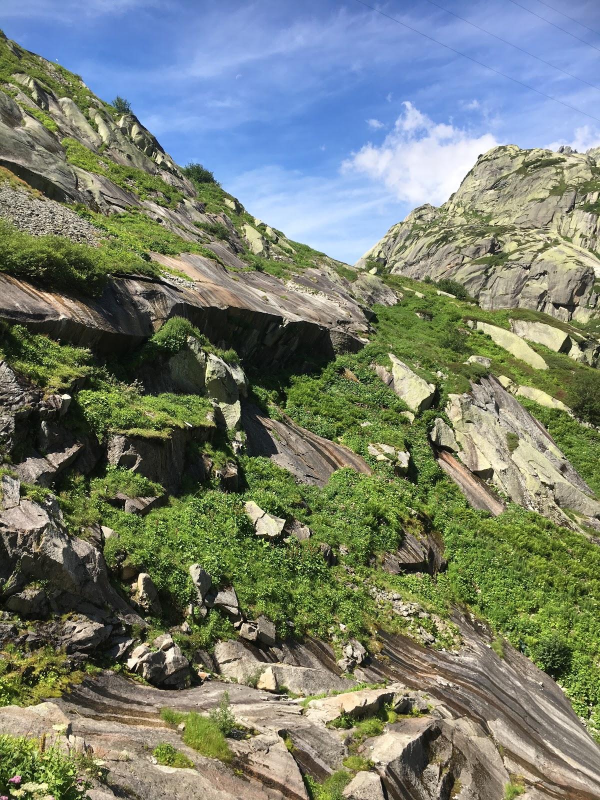 Grimselpass- Oberaarsee